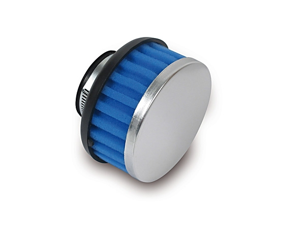 Luftfilter Sport blau/chrom-look 32mm
