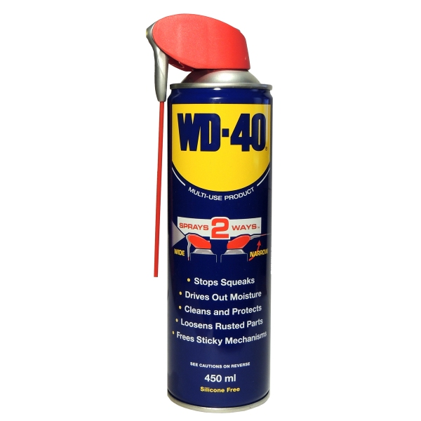 WD-40 (Multispray) 450ml Spraydose (Smart Straw)